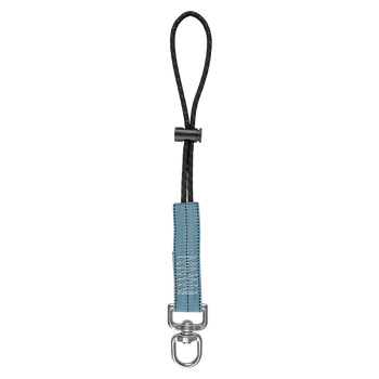 FallTech 5 lb Tool Attachment with choke-on cinch-loop and swivel D-ring 10/pack - 5303A10