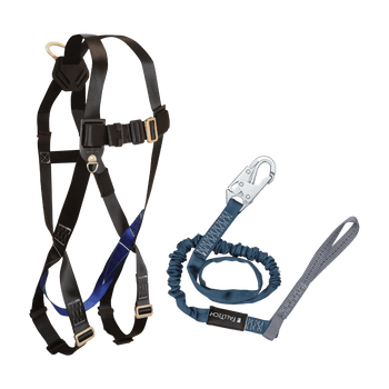 FallTech Harness and Lanyard 2-pc Combination 7007 with 8259L - CMB078259L