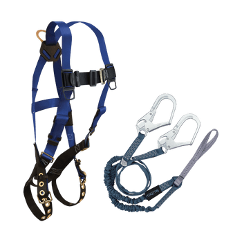 FallTech Harness and Lanyard 2-pc Combination 7016 with 8259Y3L - CMB1659Y3L