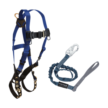 FallTech Harness and Lanyard 2-pc Combination 7016 with 8259L - CMB168259L