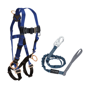 FallTech Harness and Lanyard 2-pc Combination 7017 with 8259L - CMB178259L