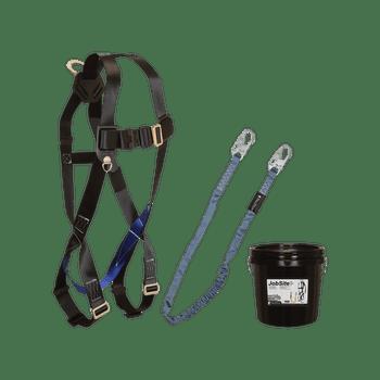 FallTech Harness and Lanyard 2-pc Mini Bucket Kit (7007 8259 1 Gallon Bucket) - 9504Z