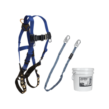 FallTech Harness and Lanyard 2-pc Mini Bucket Kit (7016 8259 2 Gallon Bucket) - 9505Z