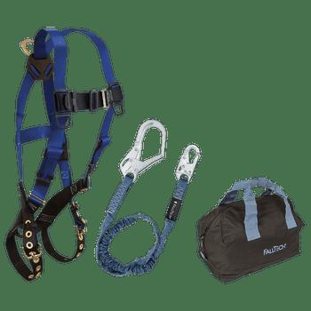 FallTech Harness and Lanyard 3-pc Kit Including Medium Storage Bag (7016 82593 5006MP) - KIT165936P