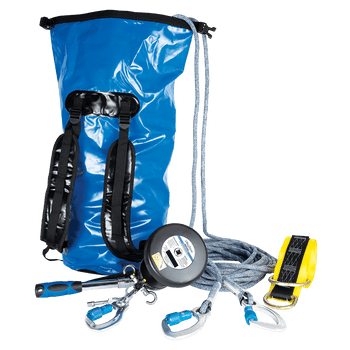 FallTech 50' Rescue and Descent Worksite Kit with Storage Bag - 681450K