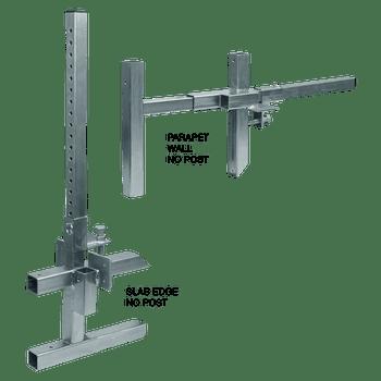 FallTech Portable Construction Guardrail Clamp only - 6402ADJ