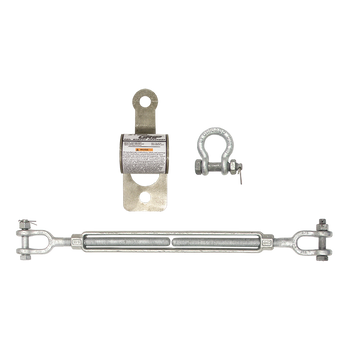 FallTech SteelGrip Cable HLL Installation Kit - 62102C
