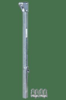 "FallTech 5' Bolt-on Ladder Stanchion Anchor with 5"" Overhead Offset - 6160505"