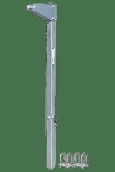 "FallTech 10' Bolt-on Ladder Stanchion Anchor with 12"" Overhead Offset - 6161012"