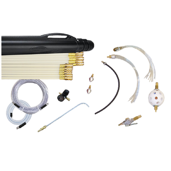 Super Whip Deluxe Plus Air Duct Cleaning Kit - SWDK