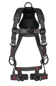 FallTech FT-Iron 3D Standard Non-Belted Harness Quick Connect Buckle Leg Adjustment - Small - 8142QCSM