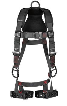 FallTech FT-Iron 3D Standard Non-Belted Harness Tongue Buckle Leg Adjustment - Small/Medium - 8142SM