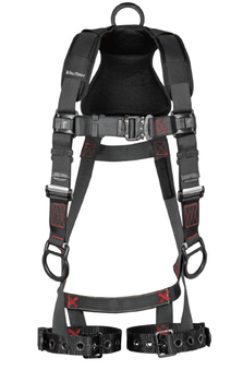 FallTech FT-Iron 3D Standard Non-Belted Harness Tongue Buckle Leg Adjustment - Large/XL - 8142LXL