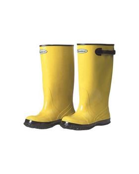 "Durawear 17"" Yellow Rubber Slush Over Boot - 1510"