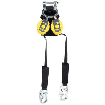 Miller 6-ft TurboLite Flash Twin-Leg Kevlar/Nomex PFL w/Steel Locking swivel Snap Hooks - MFLAF2-5/6FT