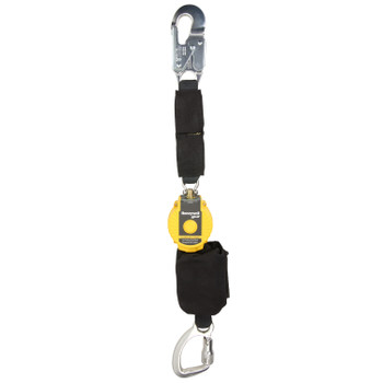 Miller 4.5-ft TurboLite Flash Single-Leg Kevlar/Nomex PFL w/Aluminum Locking Snap Hook - MFLAFB-1/4.5FT