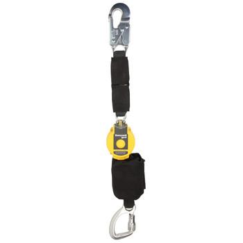 Miller 6-ft TurboLite Flash Single-Leg Kevlar/Nomex PFL w/Aluminum Locking Snap Hook - MFLAFB-1/6FT