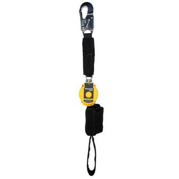 Miller 6-ft TurboLite Flash Single-Leg Kevlar/Nomex PFL w/Aluminum Locking Snap Hook - MFLAFB-2/6FT