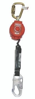 Miller 6-ft TurboLite w/Steel Twist-Lock Carabiner and Steel Locking Snap Hook on lanyard end - MFL-1-Z7/6FT