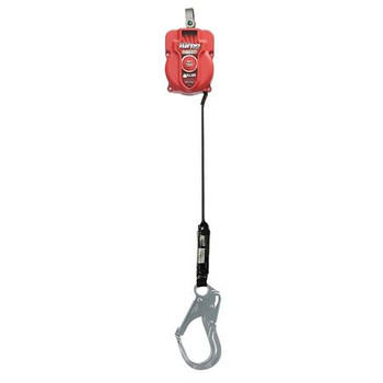 Miller 6-ft TurboLite w/No unit connector and Aluminum Locking Rebar Hook on lanyard end - MFL-17-Z7/6FT