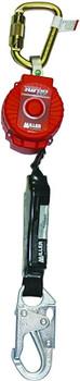 Miller 9-ft TurboLite w/Aluminum Locking Snap Hook and Aluminum Locking Snap Hook on lanyard end - MFL-14-Z7/9FT
