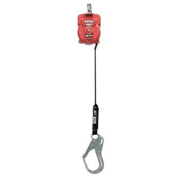 Miller 9-ft TurboLite w/Aluminum Locking Snap Hook and Aluminum Locking Rebar Hook on lanyard end - MFL-17-Z7/9FT