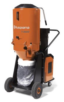 Husqvarna T8600 3-Phase 480V Powered HEPA Dust Extractor - 967664201