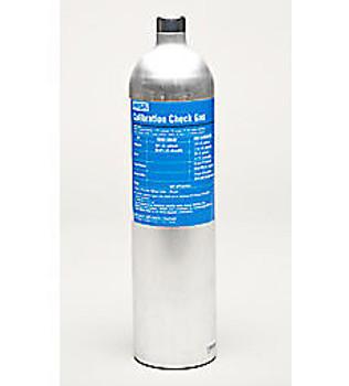 MSA 58L RP Cylinder, 60 PPM CO, 20 PPM H2S, 15% O2, 1.45% CH4, 20 PPM SO2 - 10117738