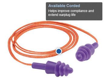 Gateway Twisters Corded Ear Plugs - 100/box