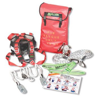 Miller SafEscape Elite Rescue/Descent Device Crane Rescue Kit 25 f.t - 520 ft. SECRKT/