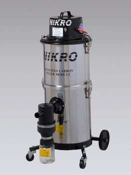 Nikro 6 Gallon Mercury Recovery Vacuum MV00688-SS