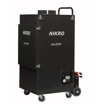 Nikro UR5000 - Upright Commercial Air Duct Cleaning System (Dual Motor)