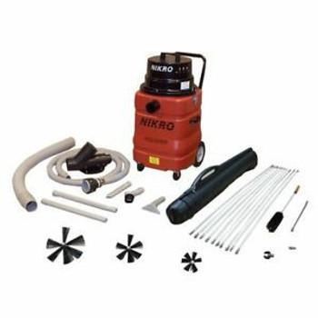Nikro Dryer Vent Vacuum w/Tool Kit & Rotary Brush Kit - DVK200