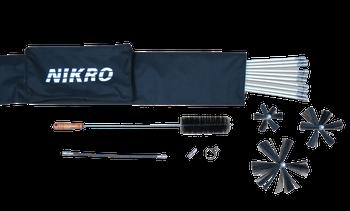 Nikro Deluxe Dryer Vent Rotary Brush Kit - 861710