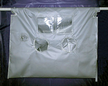 """High Temperature Glove Bag 700°F 60""""x60"""""""