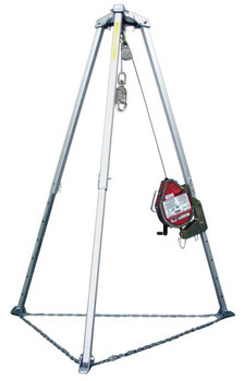 Miller Complete Confined Space Entry and Rescue Systems w/7 ft. Tripod - 50ft-130ft