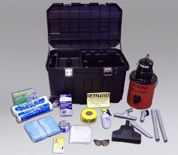 Nikro Lead RRP Compliance Kit #1 - INCLUDES 2 Gal HEPA VACUUM