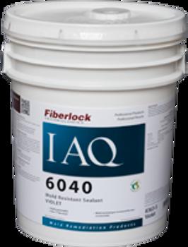 Fiberlock IAQ 6040 Penetrating Mold Resistant Sealant - Violet - 5 Gallon