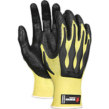 Memphis ForceFlex Nitrile Kevlar Glove - KV100 - Cut Level 2