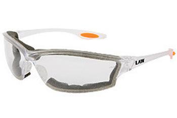 MCR Law 3 Clear Foam Lined Glasses LW310AF