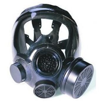 MSA Advantage 1000 Riot Control Gas Mask w/Canister [S, M, L]