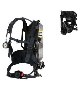 MSA AirHawk II Industrial Air Mask - High Pressure (4500 PSIG) [SCBA]