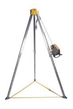 MSA Workman 8' Tripod & 50' Workman SRL Confined Space Kit - 10163034