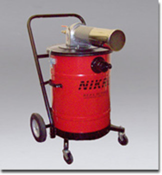 Nikro 15 Gallon Steel Pneumatic Wet/Dry Vacuum - AWP15150