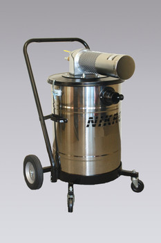 Nikro 15 Gallon Stainless Steel Pneumatic Wet/Dry Vacuum - AWS15150