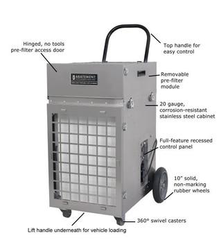Abatement Technologies HEPA-Aire Portable Air Scrubber (700cfm-2100cfm) PAS2400