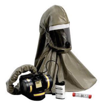 3M Breathe Easy Butyl Rubber Hood Lithium PAPR - FR57L10