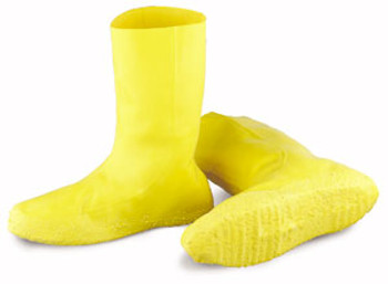 Onguard Yellow Latex Hazmat Bootie 3x