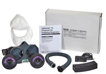 MSA OptimAir TL Belt Mounted Hooded PAPR System - 10214805