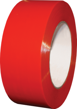 """SCAPA Polyflex 133 - 3"""" Red Poly Tape - 16/Case"""